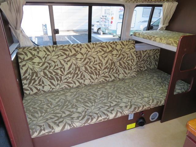 常設2段ベッドはソファーとしての展開が可能!