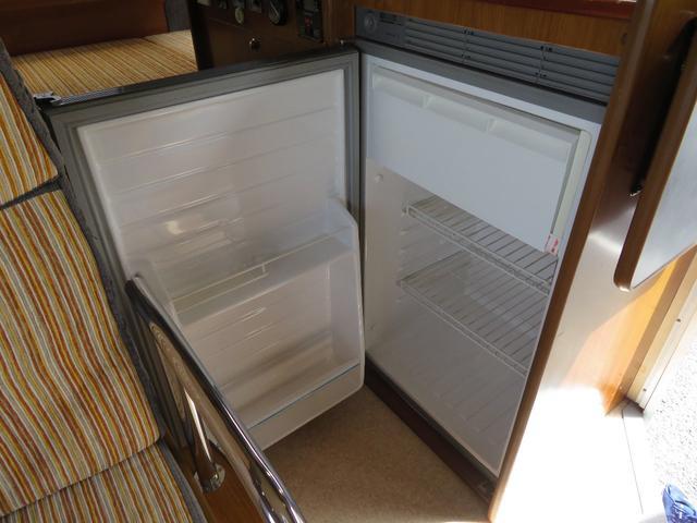 大容量冷蔵庫も完備!旅先でのお土産なども保存出来ます!