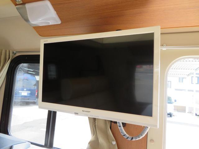 液晶TV装備!