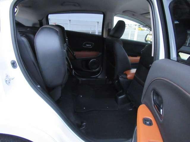 ホンダ ヴェゼル ハイブリッドZ 自動ブレーキ 内装ブラウン シートヒータ