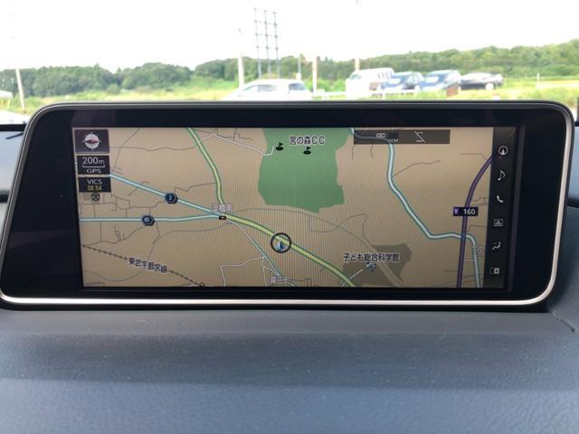 RX450h バージョンL 4WD ワンオーナー ナビ 全周囲カメラ 革シート パワーシート サンルーフ LEDヘッドランプ スマートキー ETC 20AW シートヒーター シートエアコン アイドリングストップ クリアランスソナ(10枚目)
