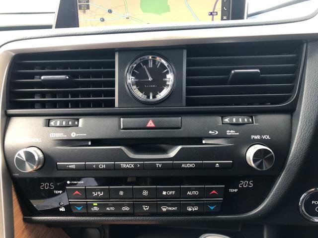 RX450h バージョンL 4WD ワンオーナー ナビ 全周囲カメラ 革シート パワーシート サンルーフ LEDヘッドランプ スマートキー ETC 20AW シートヒーター シートエアコン アイドリングストップ クリアランスソナ(15枚目)