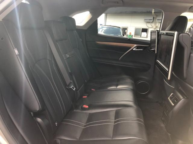 RX450h バージョンL 4WD ワンオーナー ナビ 全周囲カメラ 革シート パワーシート サンルーフ LEDヘッドランプ スマートキー ETC 20AW シートヒーター シートエアコン アイドリングストップ クリアランスソナ(27枚目)