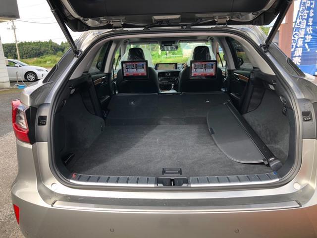 RX450h バージョンL 4WD ワンオーナー ナビ 全周囲カメラ 革シート パワーシート サンルーフ LEDヘッドランプ スマートキー ETC 20AW シートヒーター シートエアコン アイドリングストップ クリアランスソナ(35枚目)