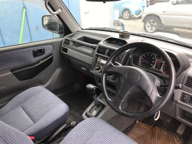 V 4WD ターボ 社外CD 背面タイヤ Tベルト交換済み(13枚目)