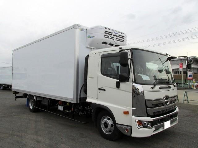 6.2m冷蔵冷凍車 低温 サイドドア付 ワイド エアサス(6枚目)