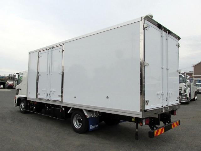 6.2m冷蔵冷凍車 低温 サイドドア付 ワイド エアサス(9枚目)