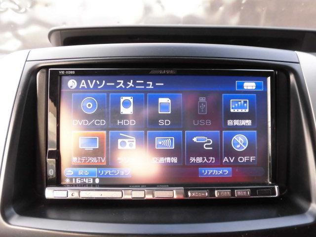 トヨタ ノア X Lセレクション 両側パワスラ 社外HDDナビ フルセグ