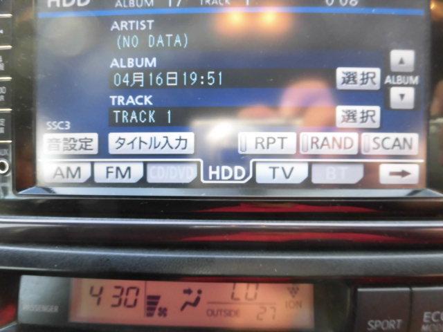 トヨタ ウィッシュ 1.8S 純正HDDナビ フルセグ 社外17インチAW