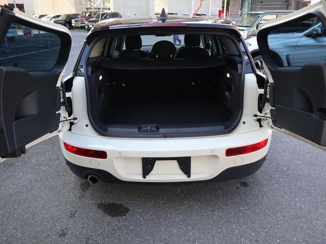 クーパーD クラブマン LEDヘッドライト 純正HDDナビ バックカメラ ミラー内蔵ETC ペッパーパッケージ パーキングアシストパッケージ ターボ 8速AT(37枚目)