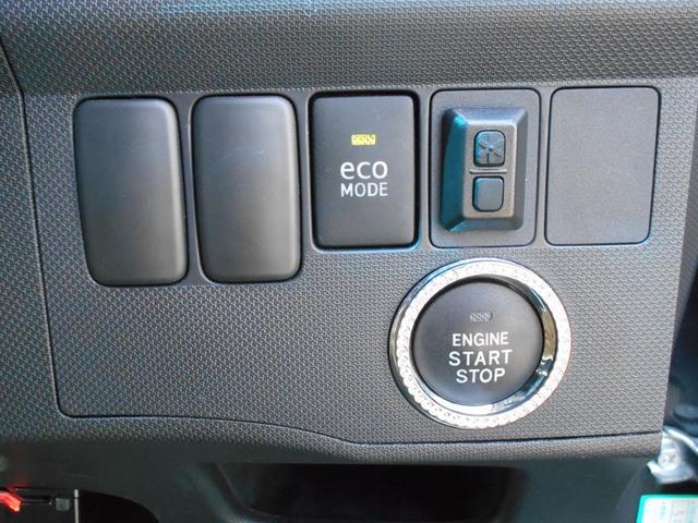 プッシュスタートなのでボタン一つでエンジン始動できます