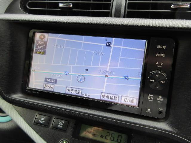 純正ナビが装備されております♪画面もクリアで運転中も確認しやすいです♪DVDの視聴もお楽しみ頂けます♪Bluetooth接続機能も搭載されておりますのでお好きな音楽でドライブしてください♪