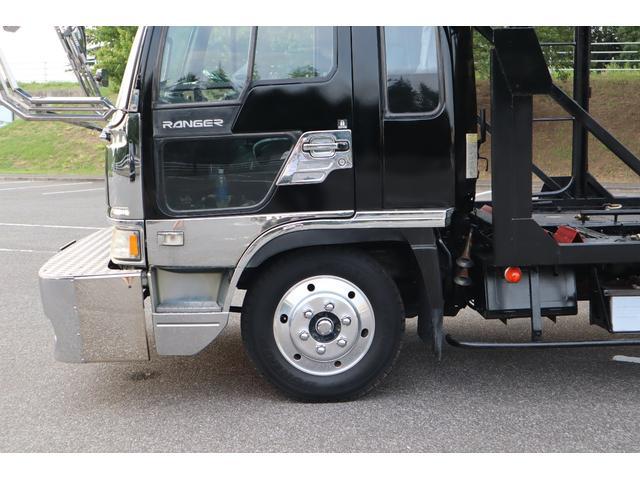 積載車 3台積み キャリアカー ワイドロング ベッド付き(8枚目)