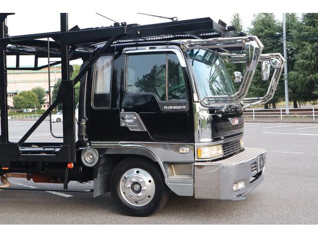 積載車 3台積み キャリアカー ワイドロング ベッド付き(14枚目)