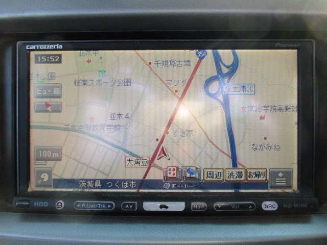 カスタム X リミテッド 社外HDDナビ ETC ワンセグ(6枚目)