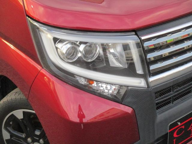 カスタム RS ハイパーSA 純正ナビ フルセグ ブレーキサポート ターボ 4WD アイドリングストップ フルセグ Bluetooth LEDライト オートライト 純正15インチアルミ スマートー プッシュスタート DVD再生可(23枚目)