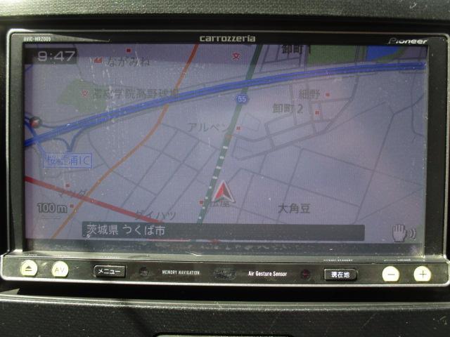 T 社外メモリーナビ  Bluetooth ターボ アイドリングストップ パドルシフト HIDライト オートライト 純正15インチアルミ スマートキー プッシュスタート フルセグ ステアリングスイッチ(5枚目)