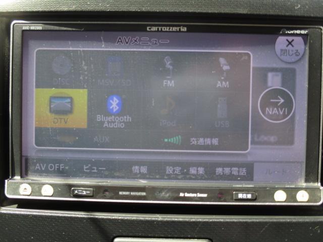 T 社外メモリーナビ  Bluetooth ターボ アイドリングストップ パドルシフト HIDライト オートライト 純正15インチアルミ スマートキー プッシュスタート フルセグ ステアリングスイッチ(6枚目)