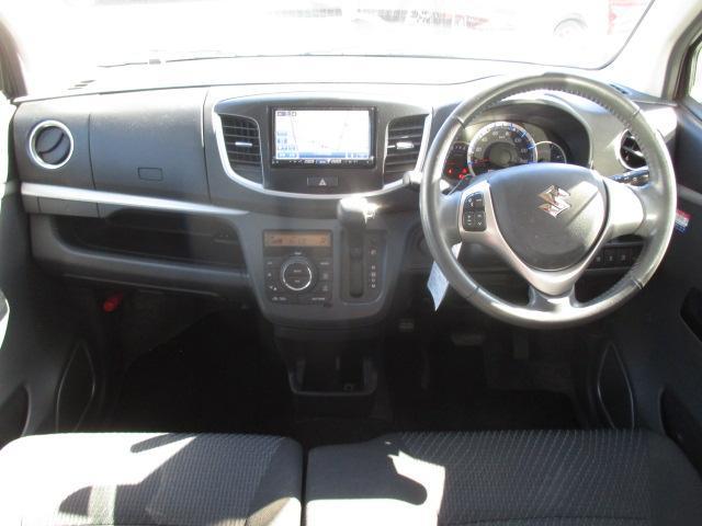 T 社外SDナビ フルセグ Bluetooth ブレーキサポート パドルシフト ターボ HIDライト オートライト アイドリングストップ ステアリングスイッチ スマートキー プッシュスタート 純正15AW(3枚目)