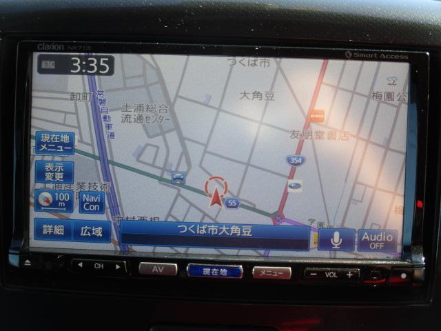 T 社外SDナビ フルセグ Bluetooth ブレーキサポート パドルシフト ターボ HIDライト オートライト アイドリングストップ ステアリングスイッチ スマートキー プッシュスタート 純正15AW(4枚目)