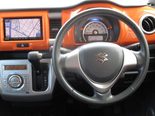 X ストラーダSDナビ フルセグ DVD再生可 ブレーキサポート HID オートライト シートヒーター アイドリングストップ スマートキー プッシュスタート 純正15インチアルミ(4枚目)