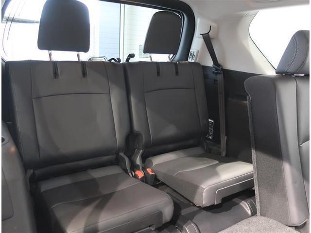 3列目のシートは収納可能なので、必要に応じて出したり、しまったりが可能です。