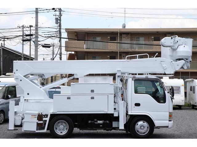高所作業車 アイチ SH15A 電工仕様 高さ14.6m(5枚目)