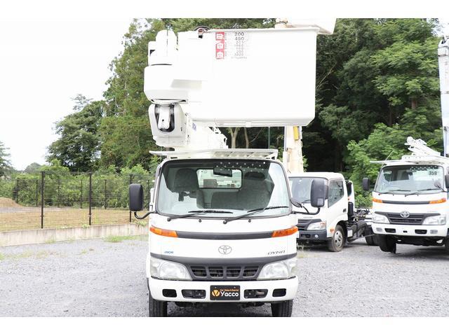 アイチ高所作業車 U594 14.6m 電工仕様 年式2006年6月 積載500kg 自動格納