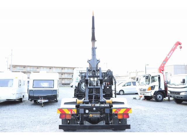 新明和アームロール CCA44-30 ツインホイスト リモコン 積載3650kg 車両総重量 7990kg シート置き ラジオ ETC 左電各ミラー EHS DPF アドブルー(42枚目)