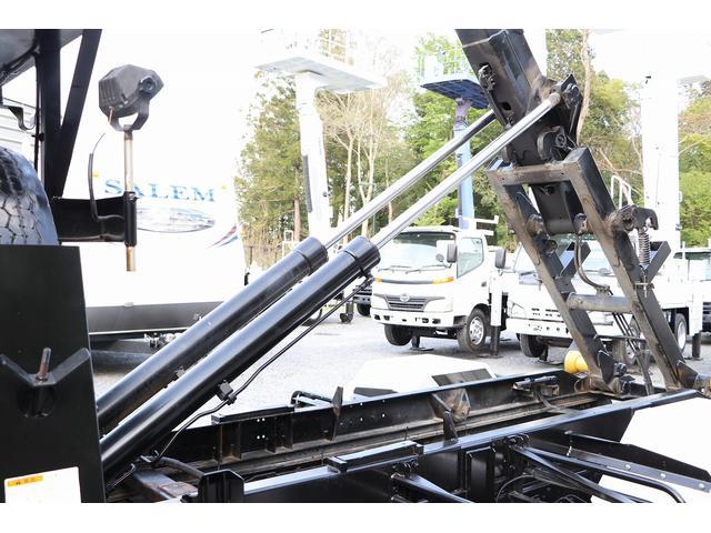 新明和アームロール CCA44-30 ツインホイスト リモコン 積載3650kg 車両総重量 7990kg シート置き ラジオ ETC 左電各ミラー EHS DPF アドブルー(52枚目)
