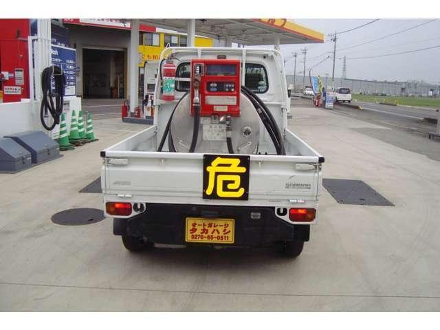 4WD MK430Lタンクローリー タンク書類有り(3枚目)