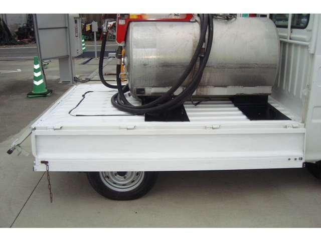 4WD MK430Lタンクローリー タンク書類有り(6枚目)