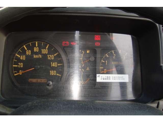 4WD 極東3K2室 Wリールローリー タンク書類有り(15枚目)