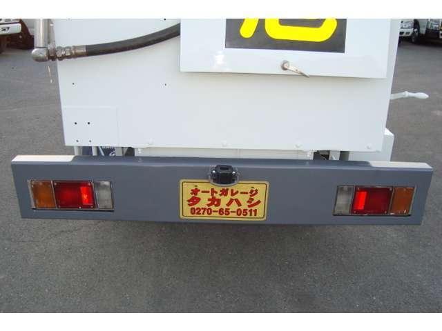 極東3.6K2室 タンクローリー タンク書類有り(9枚目)
