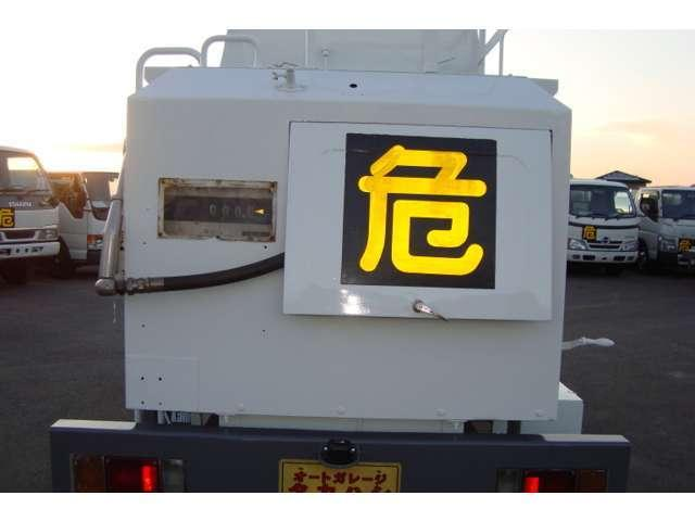 極東3.6K2室 タンクローリー タンク書類有り(10枚目)
