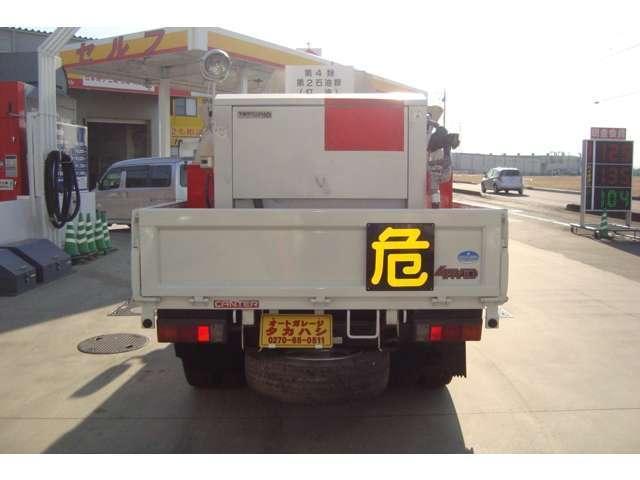 4WD タツノ1.9Kタンクローリー タンク書類有り(3枚目)