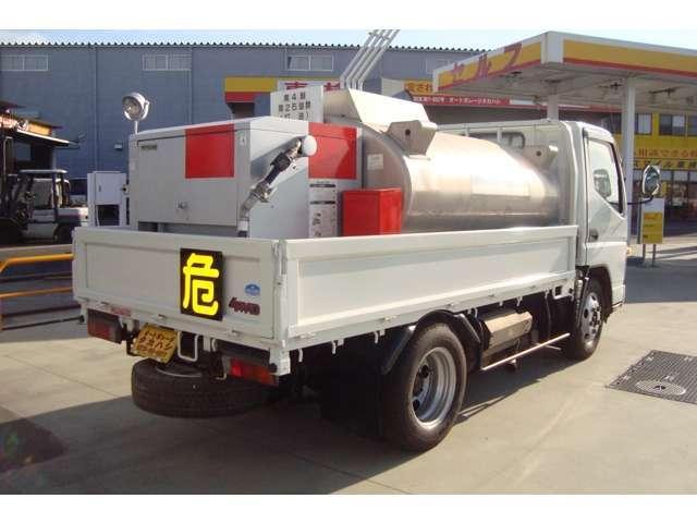 4WD タツノ1.9Kタンクローリー タンク書類有り(4枚目)