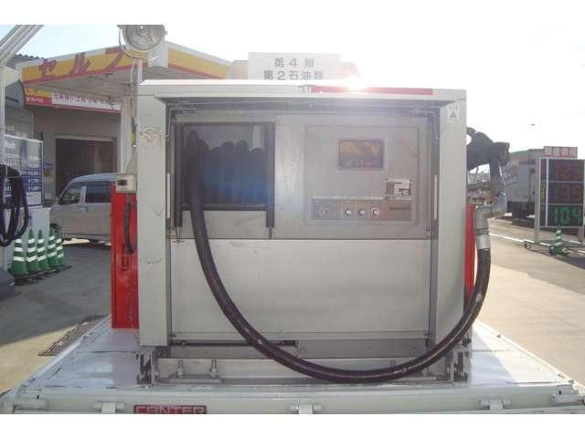 4WD タツノ1.9Kタンクローリー タンク書類有り(9枚目)