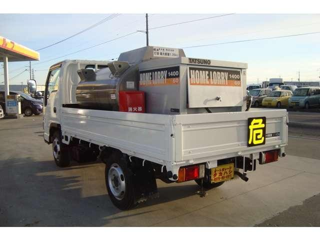 4WD AT タツノ1.35K タンクローリー タンク書類有(2枚目)