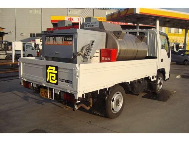 4WD AT タツノ1.35K タンクローリー タンク書類有(3枚目)