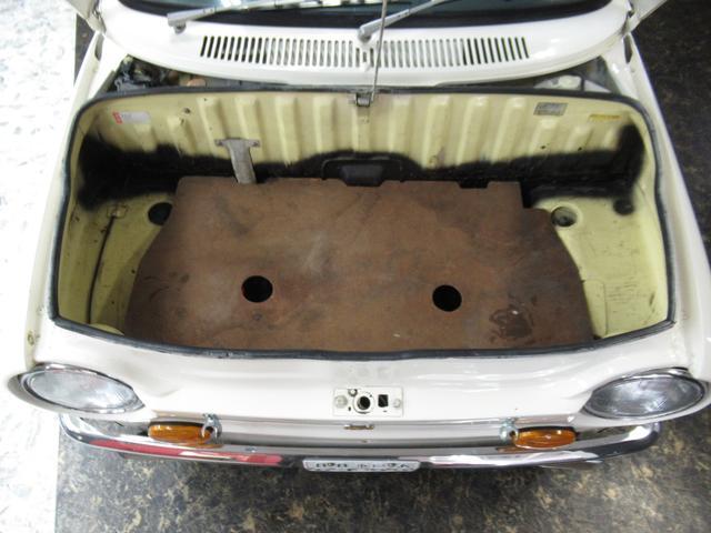 スポーティー 全塗装済 ユーザー買取車 2スト 4速MT タコメーター レザーシート 車庫保管(5枚目)
