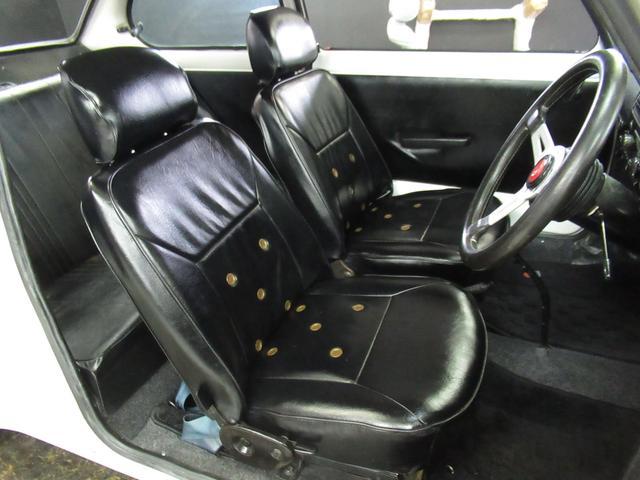スポーティー 全塗装済 ユーザー買取車 2スト 4速MT タコメーター レザーシート 車庫保管(8枚目)
