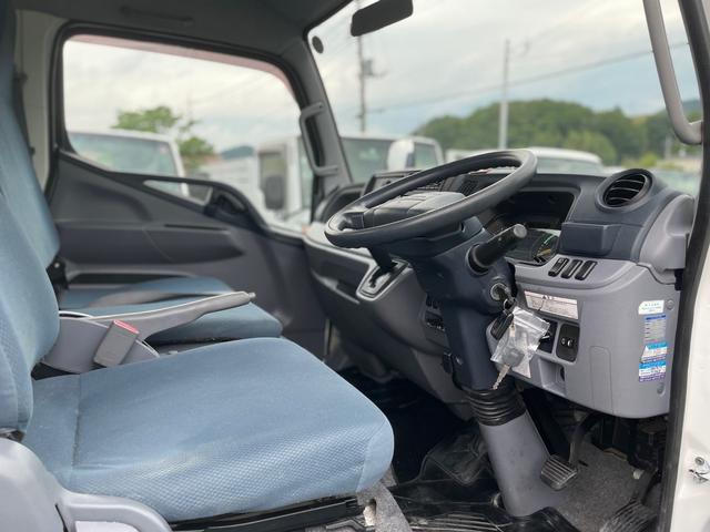 2t 平ボディ  ロング  オートマ  Wタイヤ ETC 左電格ミラー  ターボ車(8枚目)
