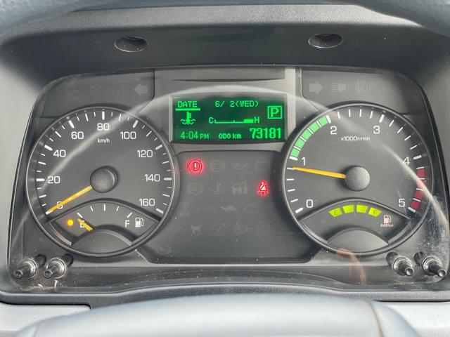 2t 平ボディ  ロング  オートマ  Wタイヤ ETC 左電格ミラー  ターボ車(10枚目)