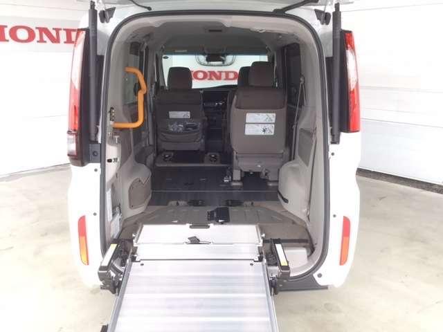 1.5GホンダSENSING車いす仕様2列目乗車 ドライブレコーダー 両側電動スライドドア (9枚目)