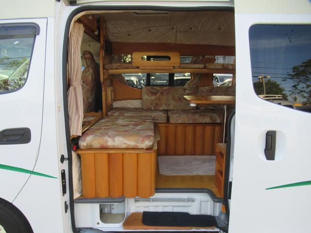 キャンピングカー カスタムプロホワイト フィールドキング クリーデンスが入庫しました!! 長さ508cm 幅169cm 高さ231cm 6人乗り 3人就寝
