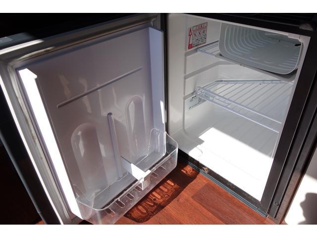 もちろん冷蔵庫も装備しております!!