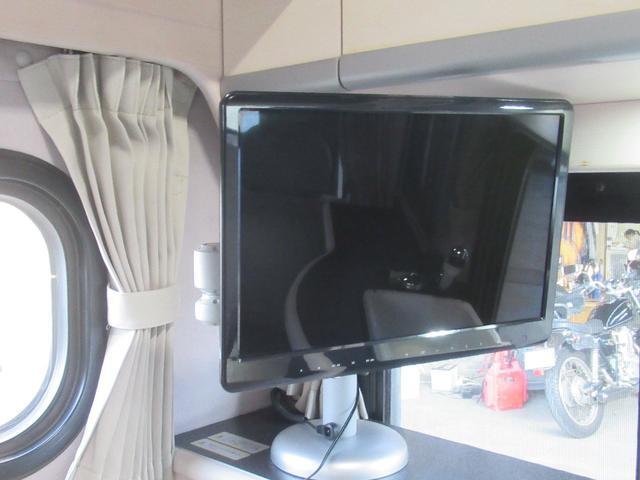 架装部もテレビ完備です♪
