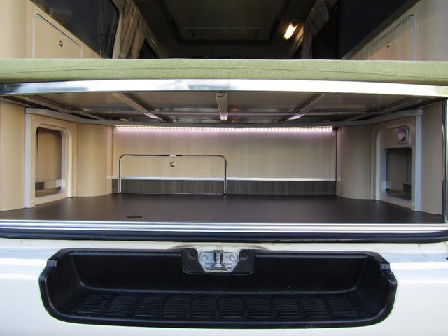 バンテック製マヨルカ NoxPM適合 ディーゼルターボ 4WD ツインサブバッテリー 1500Wインバーター ベバストFFヒーター 外部充電 外部電源 走行充電 DC冷蔵庫 ポップアップルーフ テレビ(15枚目)