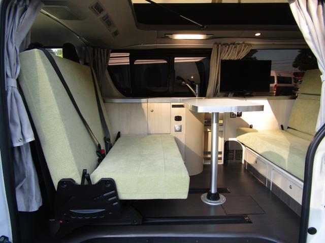 バンテック製マヨルカ NoxPM適合 ディーゼルターボ 4WD ツインサブバッテリー 1500Wインバーター ベバストFFヒーター 外部充電 外部電源 走行充電 DC冷蔵庫 ポップアップルーフ テレビ(41枚目)